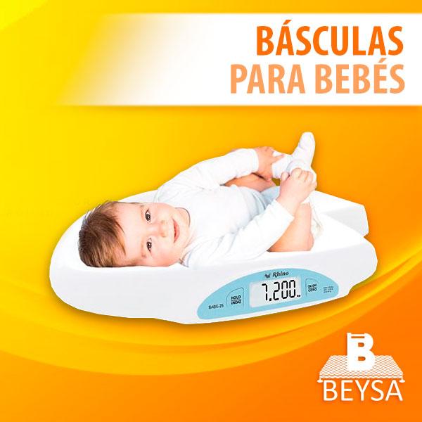 Básculas para bebés