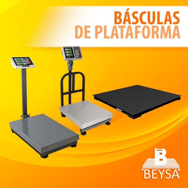 Básculas de plataforma